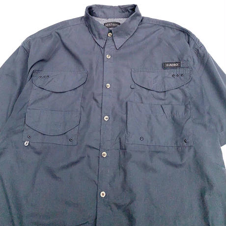AERO S/S FISHING SHIRT size XL