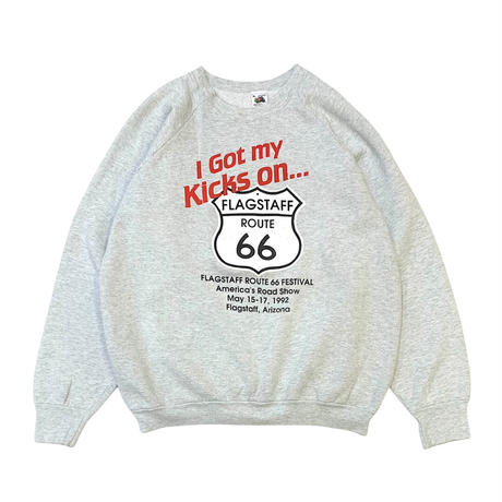 90's ROUTE66 FESTIVAL SWEATER MADE IN USA🇺🇸 size M〜L程
