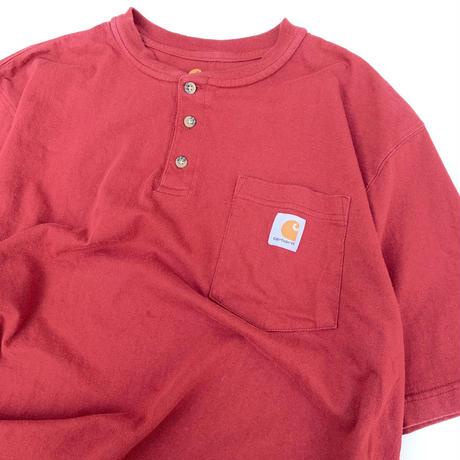 CAR HARTT  Henry Neck T-shirt size L