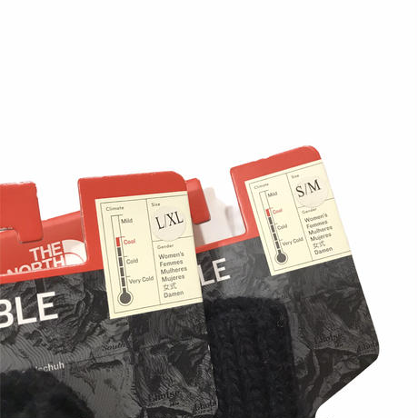 THE NORTH FACE Cable Gloves Size-S-M L-XL Women's New