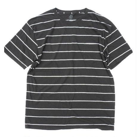STAFFORD Poket Black T-Shirt SIZE-XL