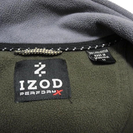I ZOD  Zip UP FLEECE M