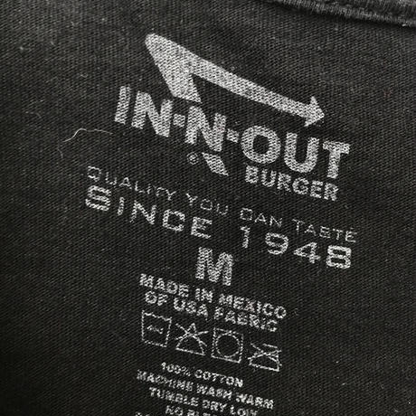 IN-N-OUT BURGER🍔  T-shirt Size-M