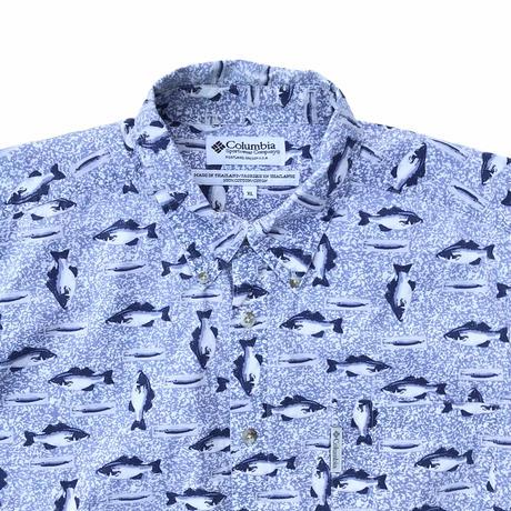 Columbia Fish B.D Shirts Size-XL