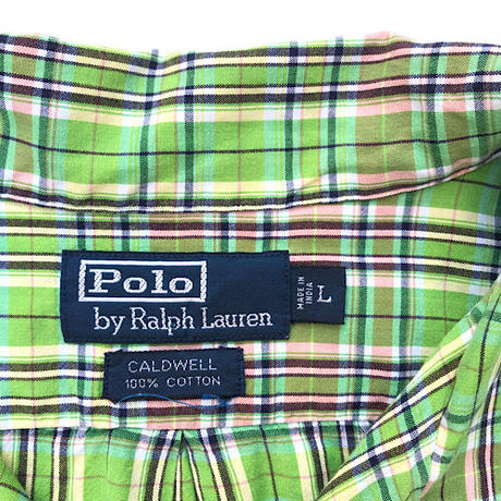 Polo Ralph Lauren🌿  Open Collar S/s Shirts Size-L