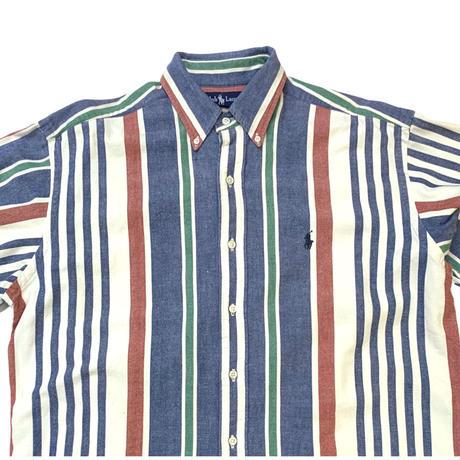 Ralph Lauren L/S Striped Shirt size L〜XL程