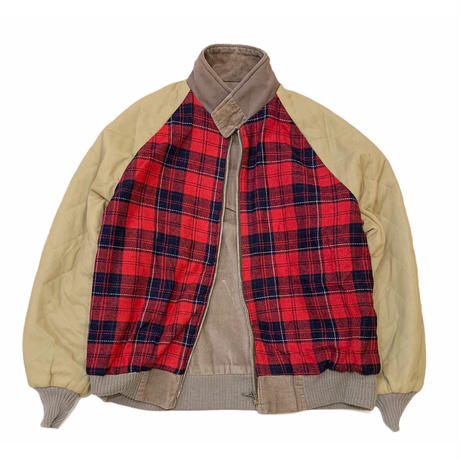 WEST WIND CHECK LINER JACKET MADE IN USA size XL