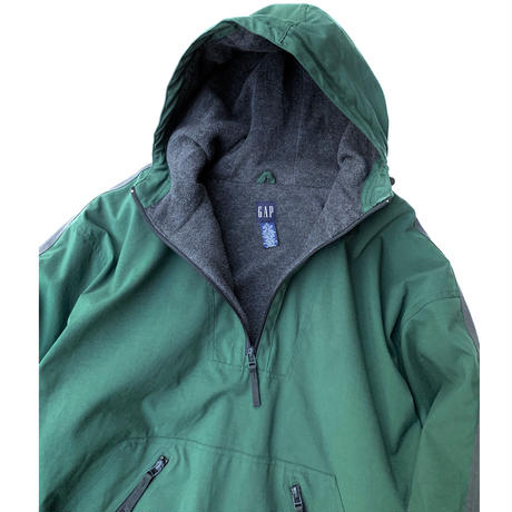 NEW GAP FLEECE LINER NYLON PULLOVER size XL