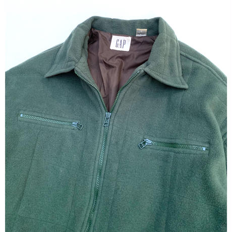 GAP FLEECE SHIRT JACKET size L