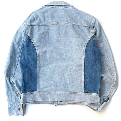 70's Lee Reversible Denim Jacket size M程