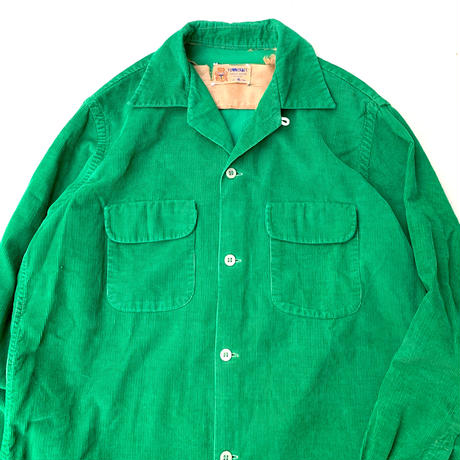 TOWN CRAFT CORDUROY SHIRT size M