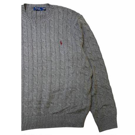 Polo Ralph Lauren Cotton Cable knit size XXL