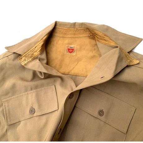 40's Vintage Officer Shirt  size M程