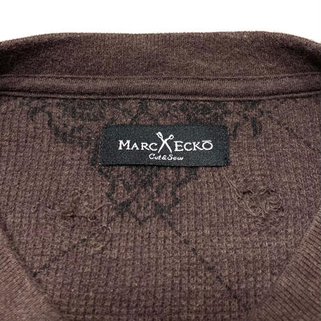 MARC ECKO THERMAL SHIRT size L程