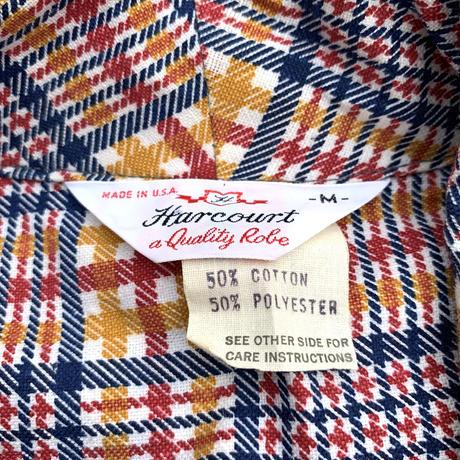 Vintage Harcourt Print Nel Gown (Dead Stock)