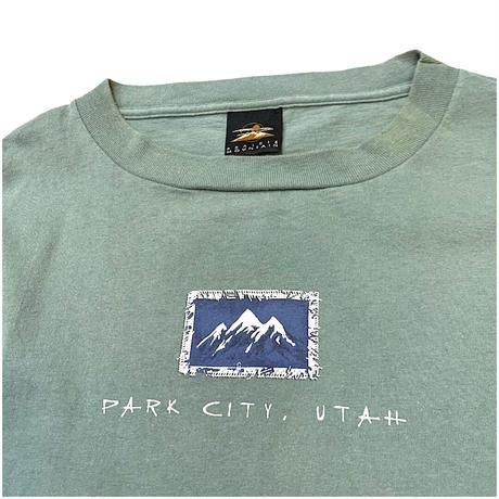 90's〜 PARK CITY UTAH T-SHIRT size XXL程