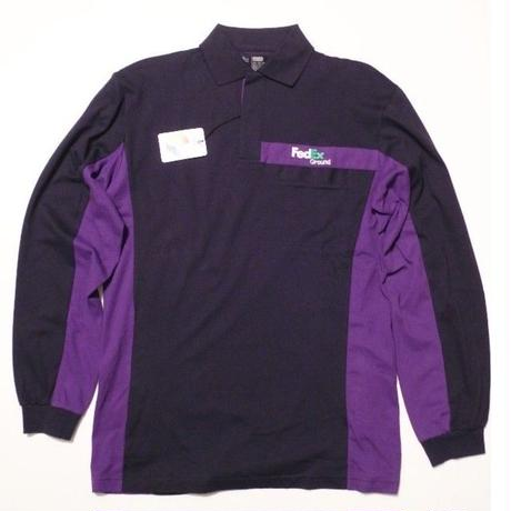 NEW FedEx L/s POLO shirts SIZE-M-RG