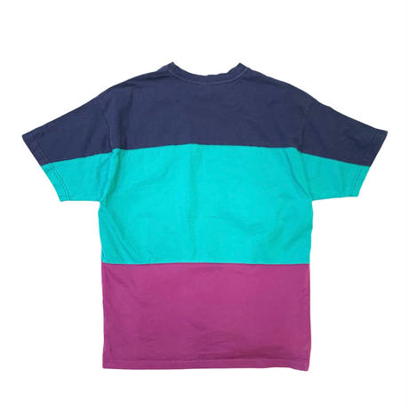 URBAN OUTFITTERS BORDER T-SHIRT size L〜XL程