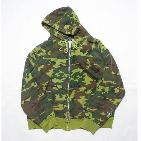 Camo Thermal Zip Up Parker XL