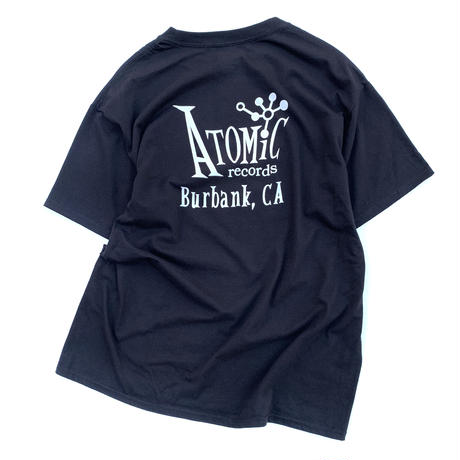 ATOMIC RECORDS T-SHIRT size L