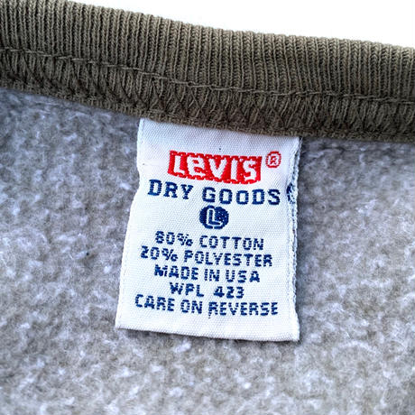 Levi's DRY GOODS SWEATER MADE IN USA size L