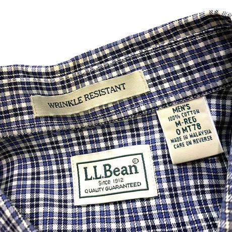 L.L.BEAN COTTON L/S SHIRT size M