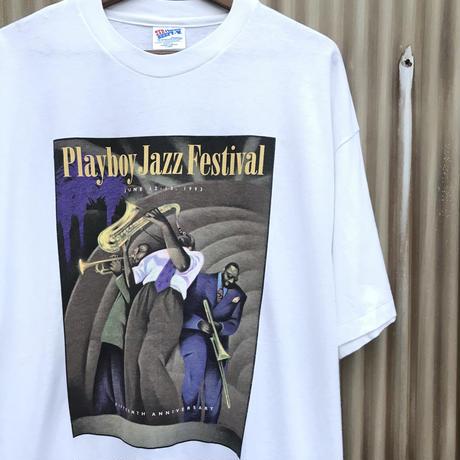 PLAYBOY Jazz Festival Tee  Size-XL 1993  Dead Stock
