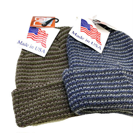 Broner Striped Watch Cap Made in usa🇺🇸