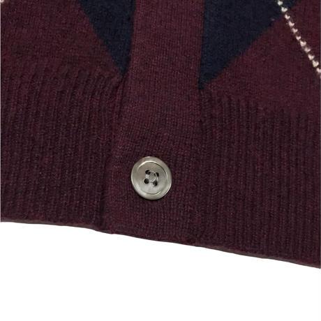 CLUB ROOM Lambswool Cardigan Size-M