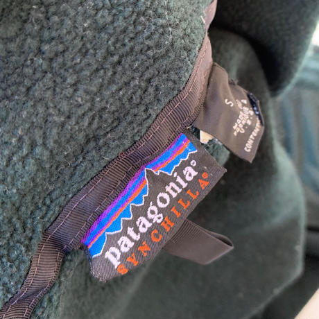 PATAGONIA SYNCHILLA FLEECE JACKET MADE IN USA size S