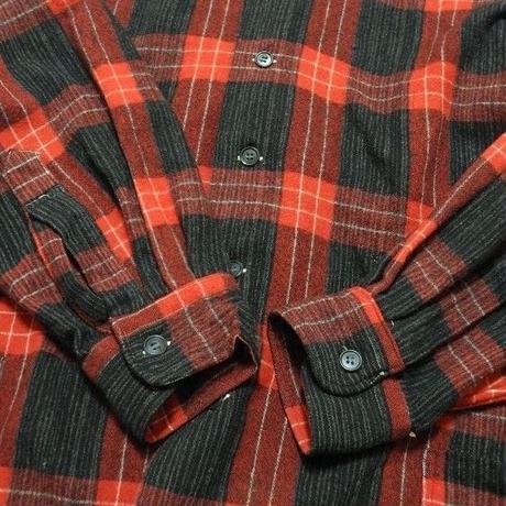 60's~WELLINGTON WOOL SHIRT JACKET MADE IN JAPAN XL