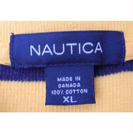 NAUTICA 100%COTTON POLO SHIRT  SIZE-XL