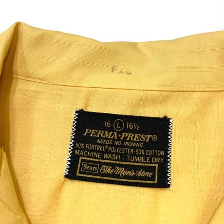 〜70's SEARS PERMA PREST SHIRT size L