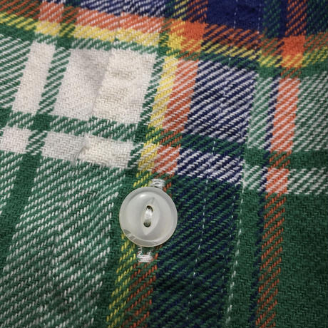 Polo Ralph Lauren Flannel shirt Size-XL マチ チンスト
