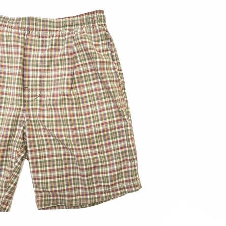 UNIONBAY COTTON Easy Check Shorts  Size-M 実寸L程