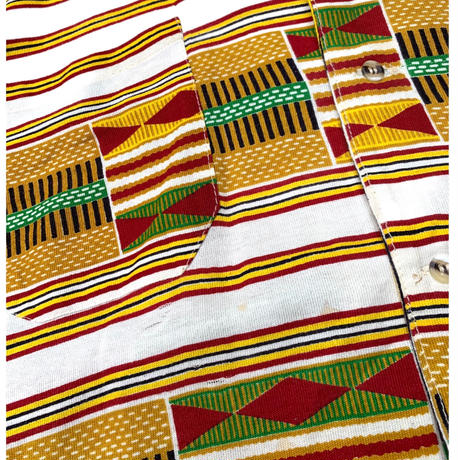 AFRICAN PATTERN SETUP size XL〜XXL程