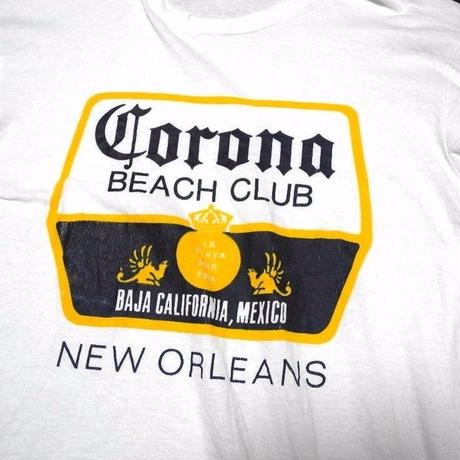 90s Corona Beer T-shirt SIZE-L  MADE IN USA