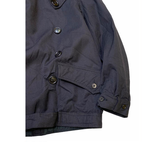 (A)ITALIAN MILITARY DOUBLE BREASTED JACKET size M程