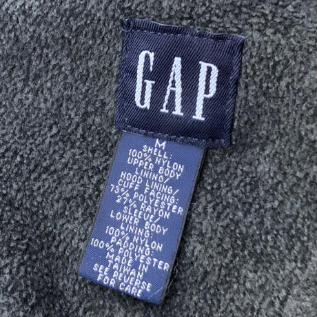 GAP FLEECE LINER NYLON PULLOVER size M