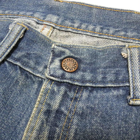 70s~ unknown denim pants w33程