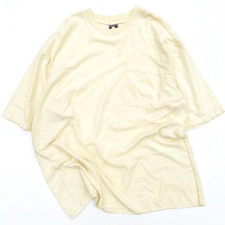 DRAWSTRINGS POCKET T-shirt MADE IN USA