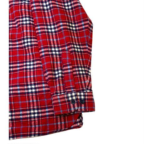L.L.Bean Checked Chamois Cloth Shirt size XXL程