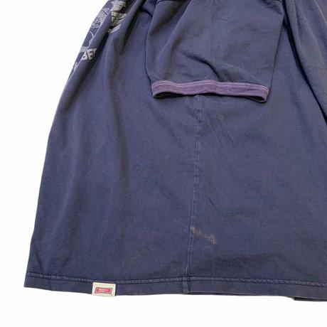 TAILGATE SLIM'S FISH CAMP RINGER T-SHIRT size XL