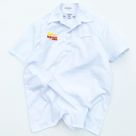 IN-N-OUT BURGER  PULL OVER SHIRT size L