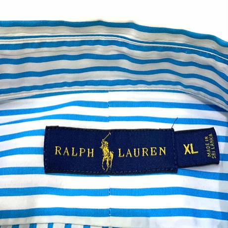 Ralph Lauren L/S Striped Shirt size L程