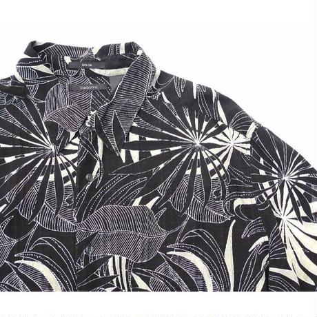 Black 100%Silk Shirt SIZE-XXL