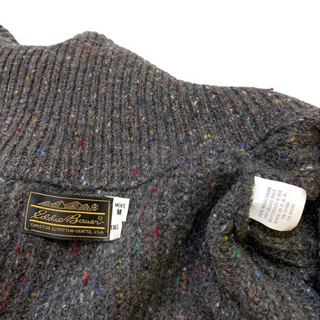 〜90's Eddie Bauer Color Nep Wool Knit Made in usa🇺🇸size M〜L程