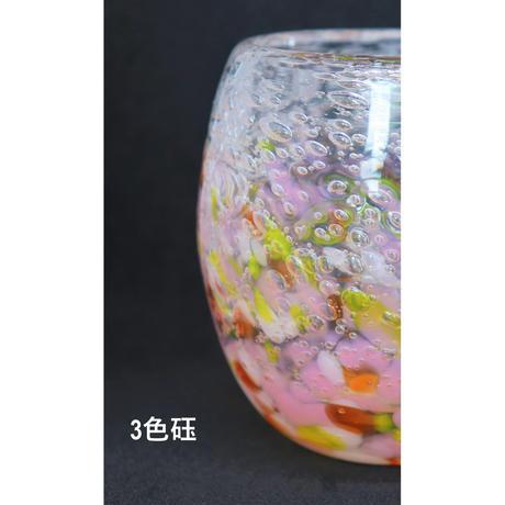 気泡の海 タルグラス(赤系)