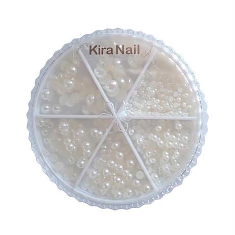 1月20日発売☆KiraNail パールセット ハーフラウンド