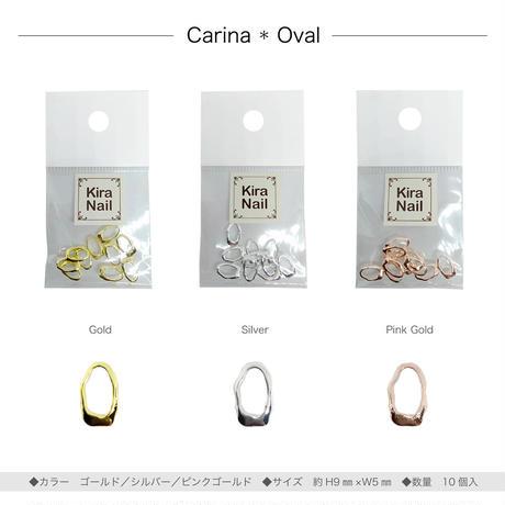 4月1日発売☆KiraNail カリーナ オーバル  ゴールド /シルバー/ピンクゴールド